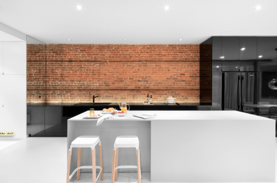 130 Year Old Apartment Renovation With Industrial Touches