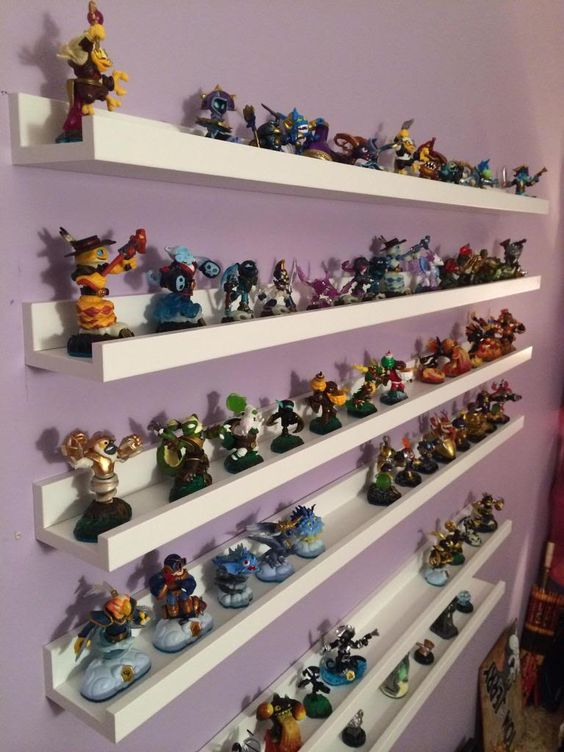 Ribba kids' toy shelves