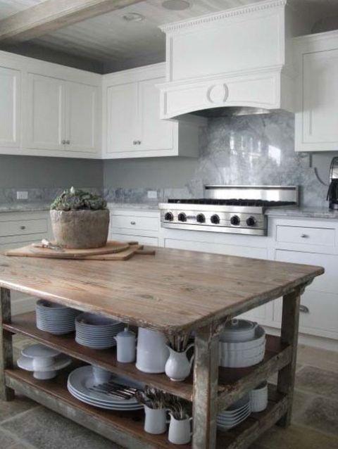 39 kitchen island ideas with storage digsdigs. Black Bedroom Furniture Sets. Home Design Ideas