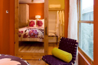 14 mirrored closet entrance