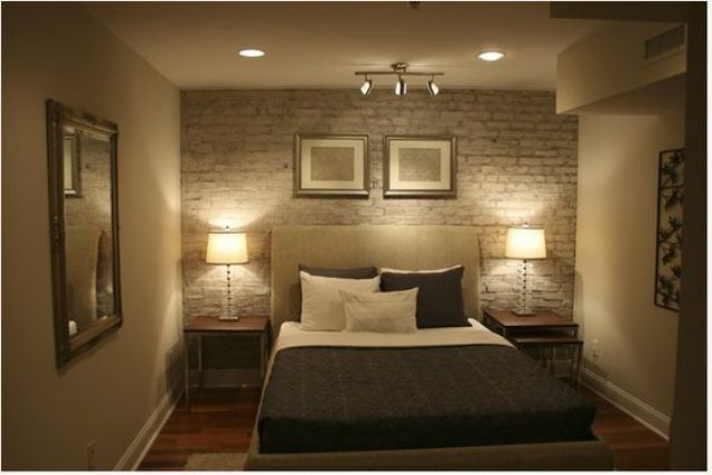 Superior Nightstand Lamps For A Basement Bedroom