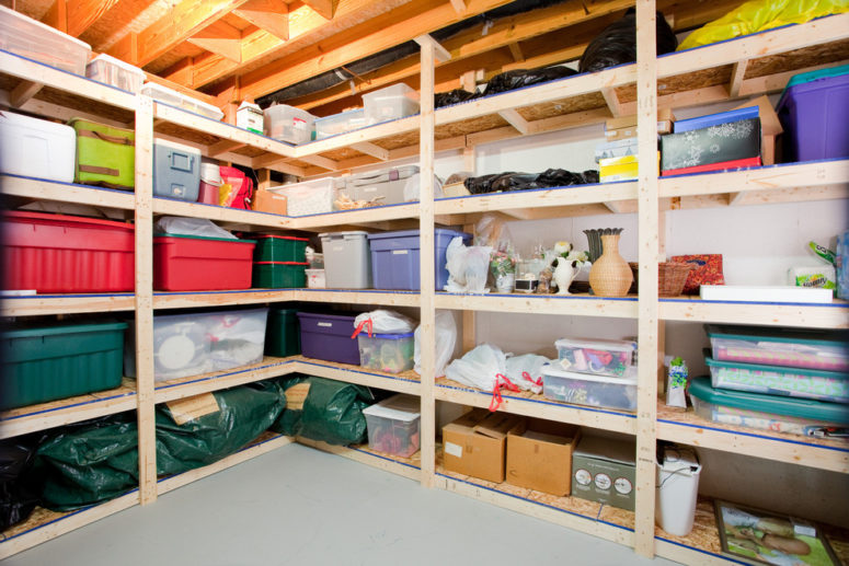 The basement storage solution should occupy its every corner.  (Case Design/Remodeling of Indianapolis)