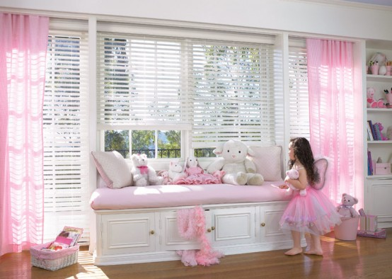 Cool Ideas For Pink Girls Bedrooms