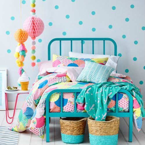 Beautiful bold patterned bedding