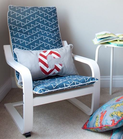nautical themed Poang chair hack