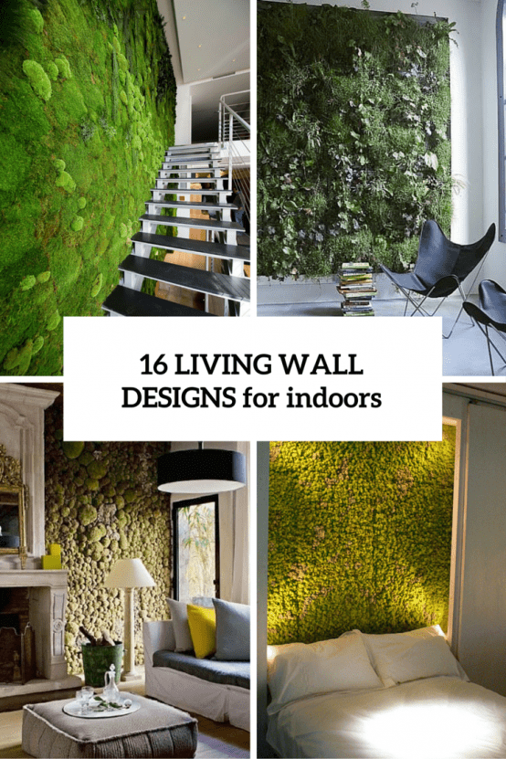16 Peaceful Indoor Living Wall Designs For Any Home