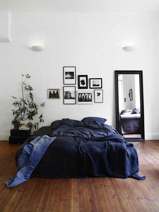 navy blue manly bedding