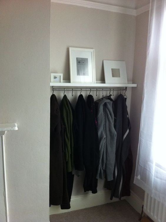 Ribba ledge coat rack