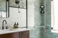 17 aqua green mosaic shower tiles
