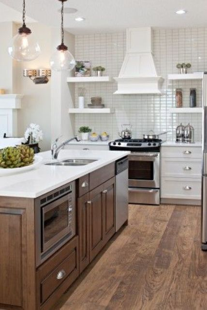 39 Smart Kitchen Islands With Built In Appliances Digsdigs
