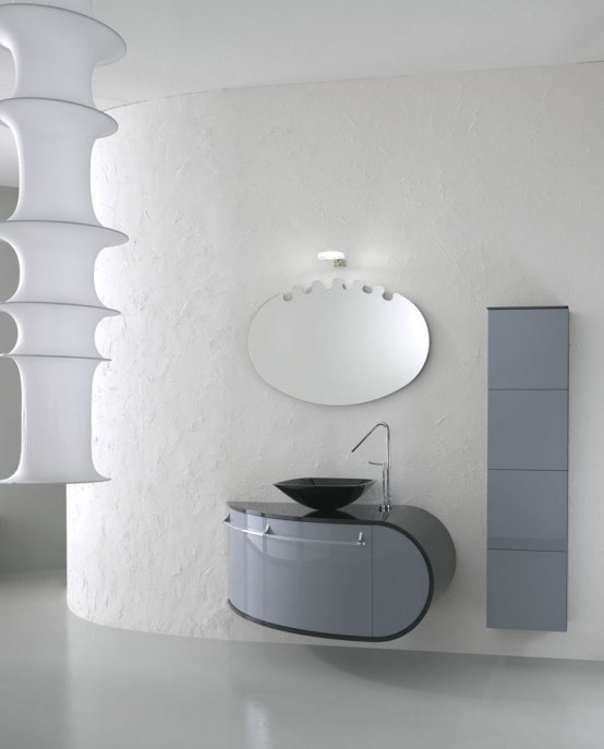 17 Modern Bathroom Furniture Set Piaf By Foster
