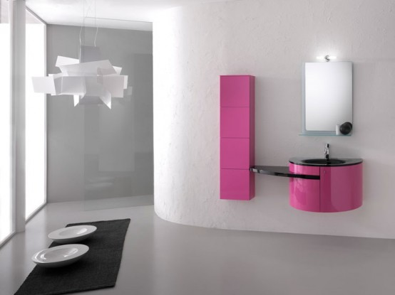 Modern Bathroom Furniture Set Piaf By Foster