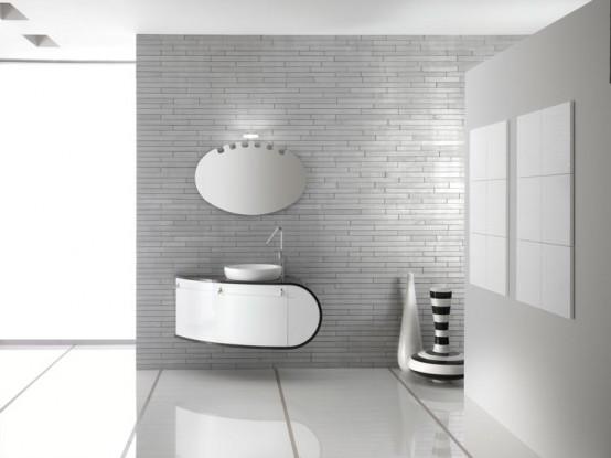 Modern Bathroom Furniture Set Piaf By Foster