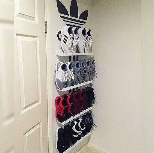 Ribba shoe shelves