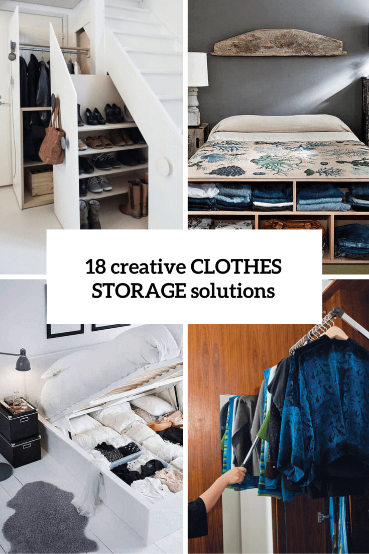 Creative Clothes Storage Solutions Cover
