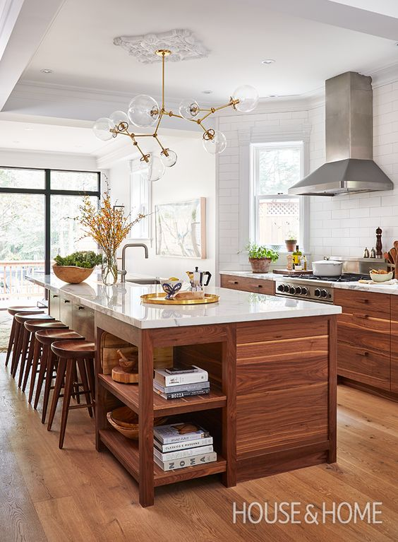 30 Kitchen Islands With Seating And Dining Areas Digsdigs