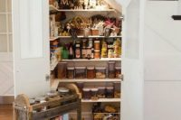 18 pantry under the stairs