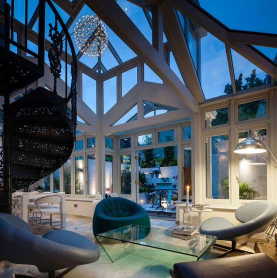 18th Century Conservatory Turned Into A Modern Home
