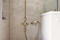 19 creamy penny shower tiles