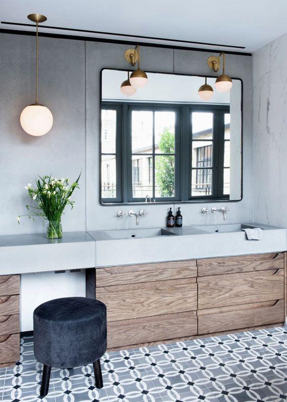 Modern Bathroom Floor Ideas : Cool bathroom floor tiles ideas you should try digsdigs