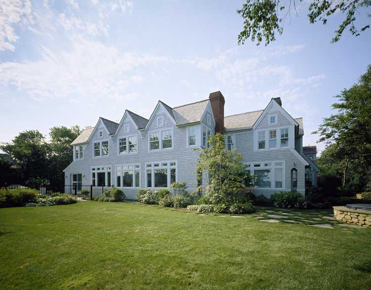 19th century cottage renovated in american shingle style for Shingle style cottage