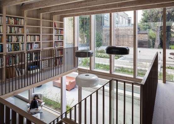 19th Century Modern House Restored In A Modern One