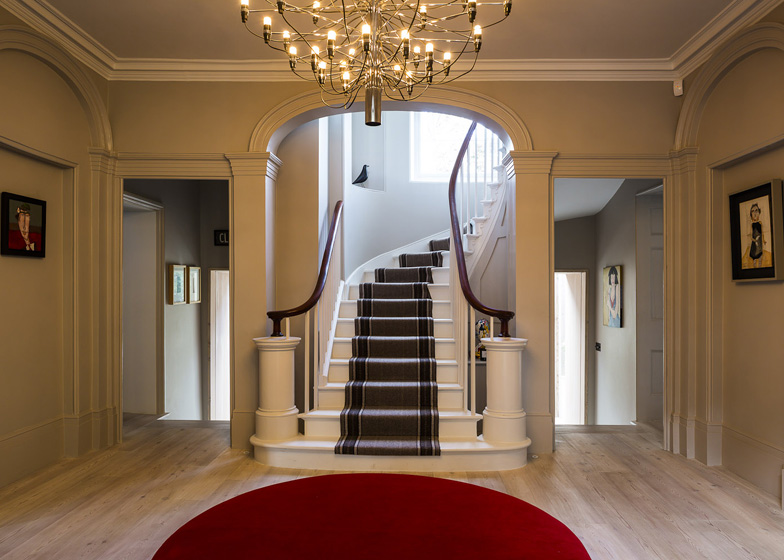 Desain Rumah Minimalis: 19th Century London House Restored In A ...