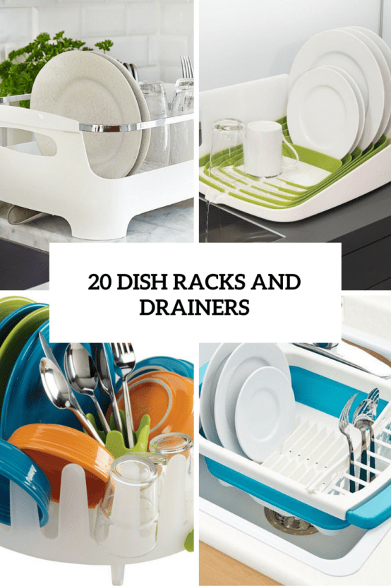 20 Small And Creative Dish Racks And Drainers