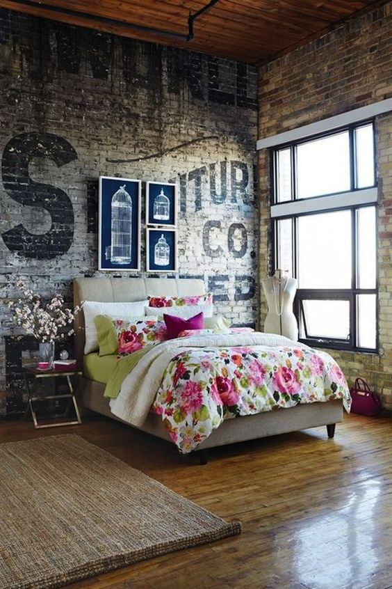 floral bedding in pink and green