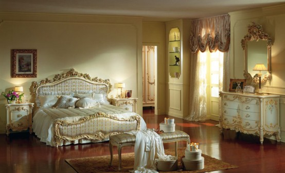 Luxury Beds With Traditional Design