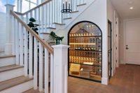 20 wine cellar under the stairs