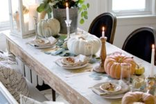 33 beautiful thanksgiving table decorations