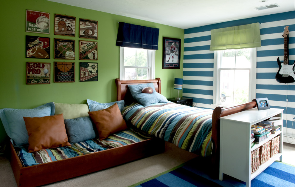 A trundle bed is a great solution when space is at a premium. 55 Thoughtful Teenage Bedroom Layouts   DigsDigs