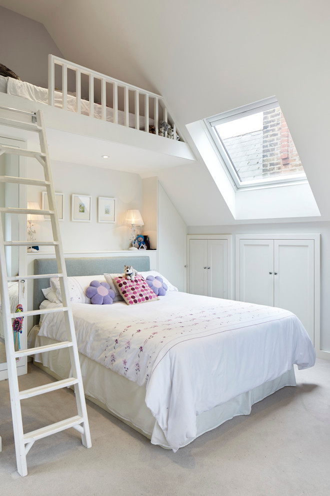 An attic gives a possibility to use much more interesting room layouts than you can use in standard rooms.