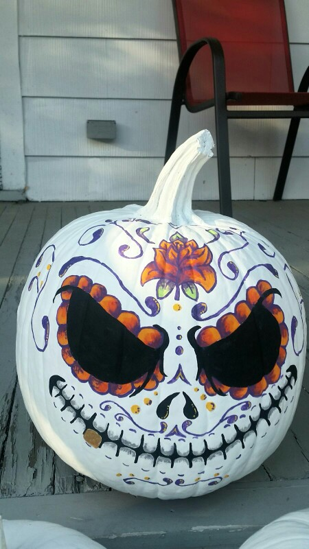 Painted sugar skull