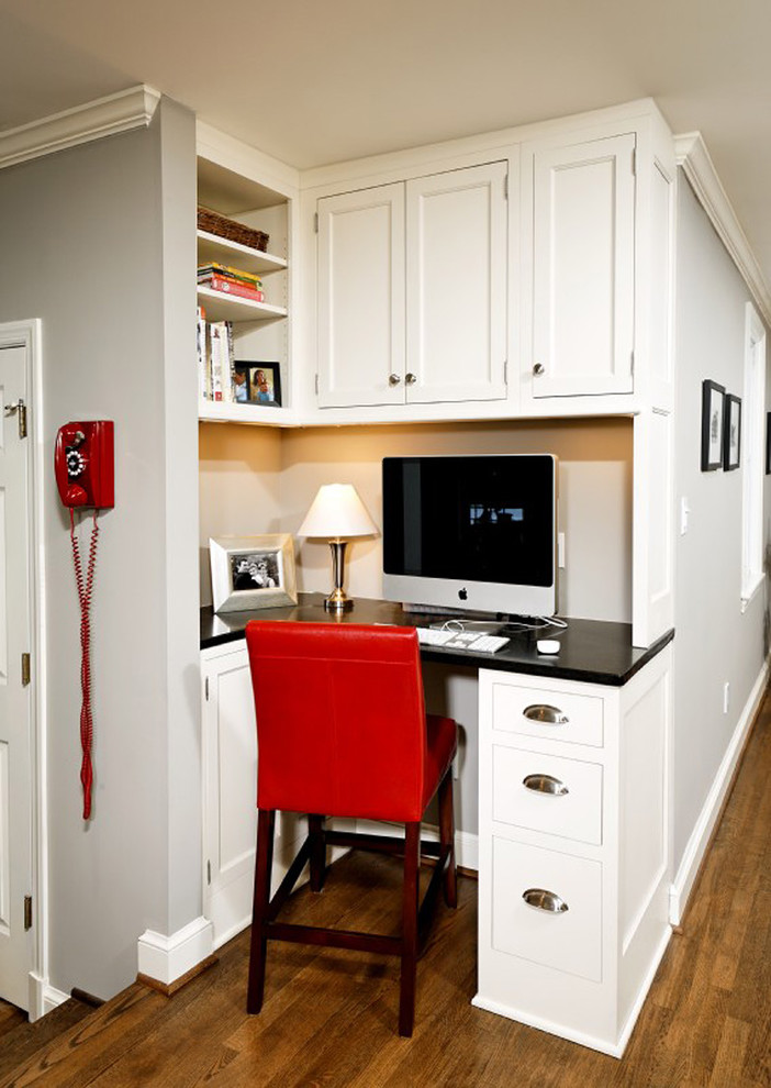 57 cool small home office ideas digsdigs Corner home office design ideas