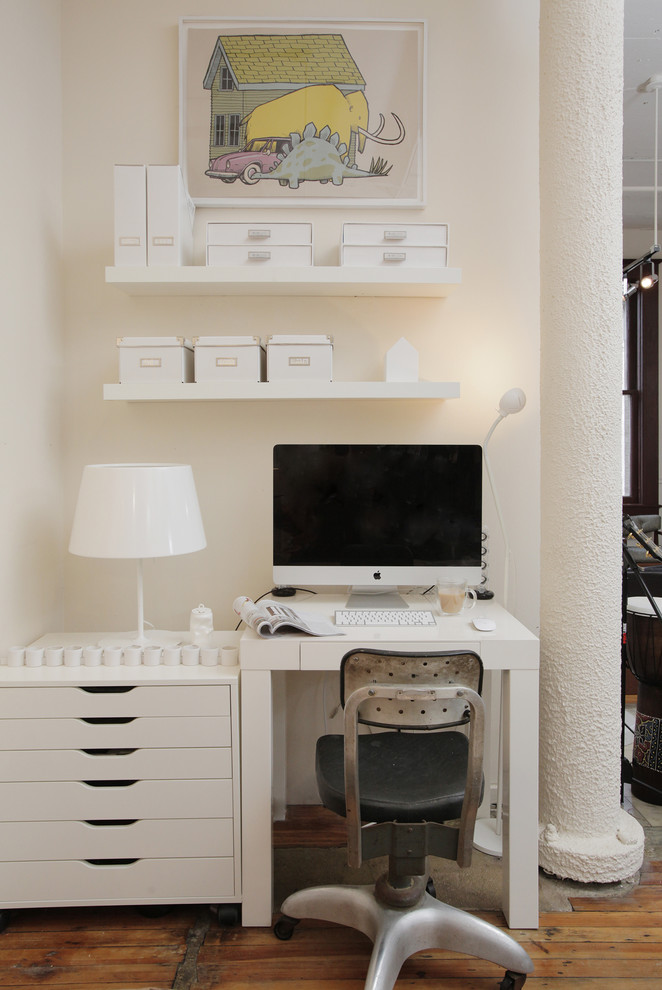 57 cool small home office ideas digsdigs - Home office for small spaces photos ...