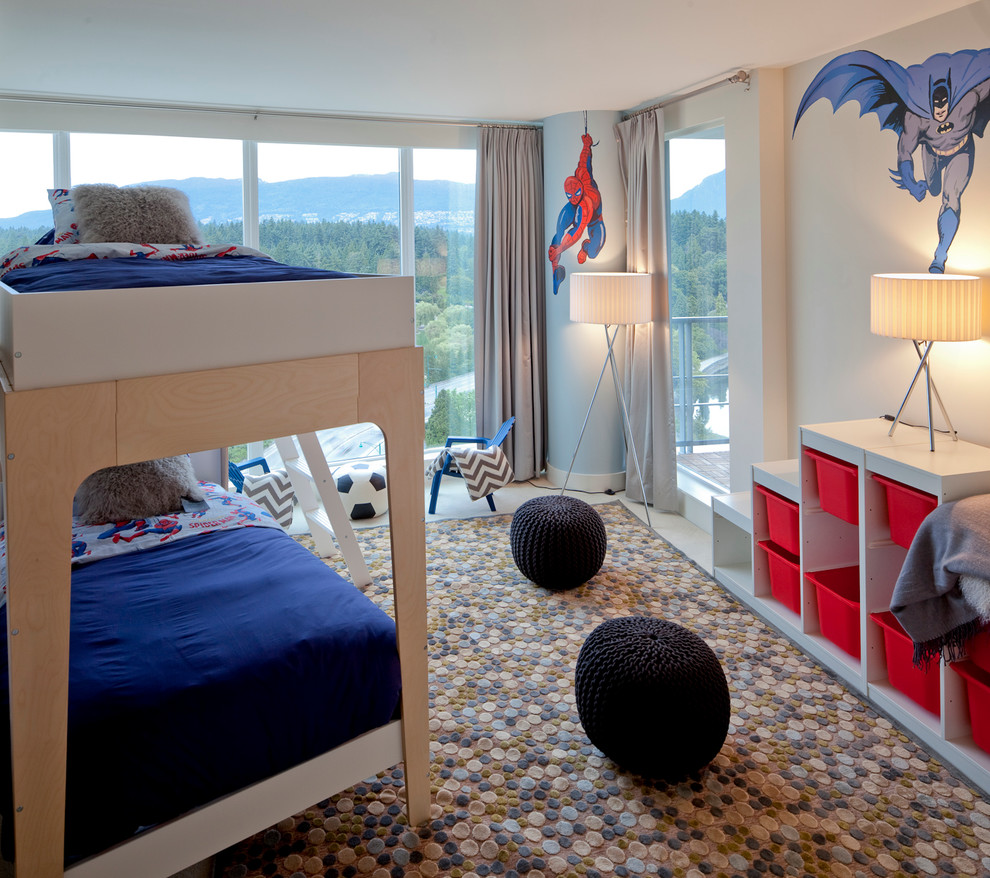 Charming If Your Boys Love Comics Then Simple Wall Murals Could Make Their Room A  Happy Place