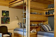 loft-space could be very useful in a boys bedroom