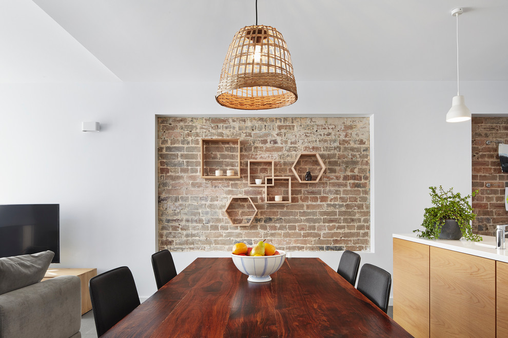 cool interiors with exposed brick walls