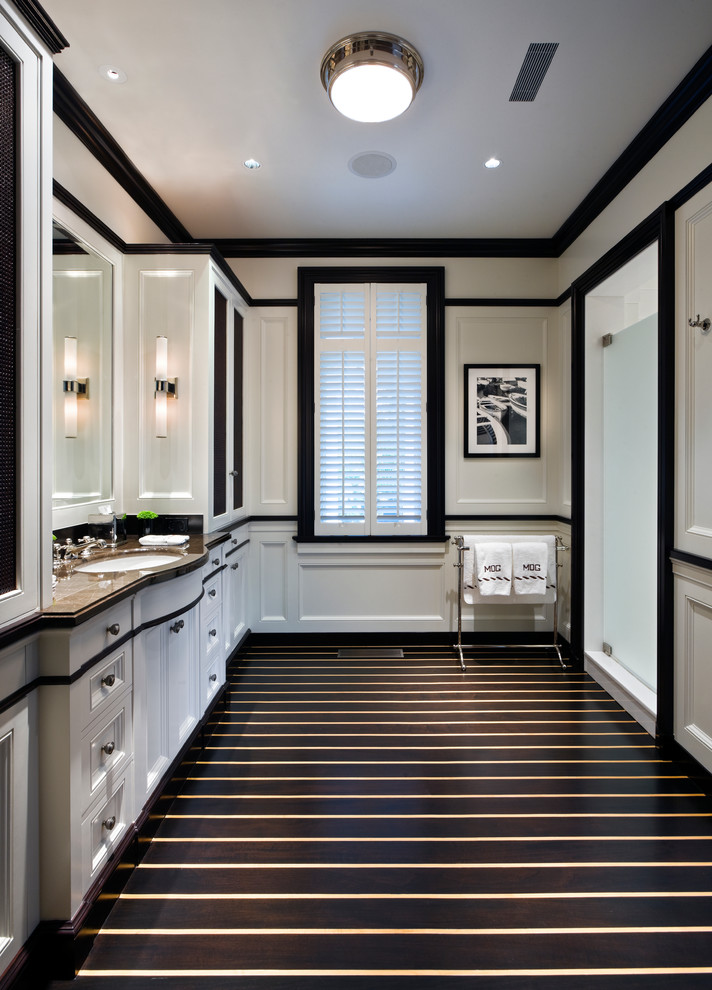 Paint Colors For A Black And White Bathroom 71 cool black and white bathroom design ideas - digsdigs