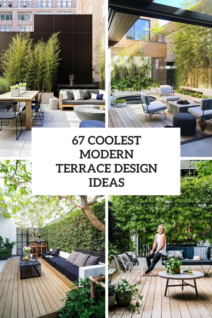 67 Coolest Modern Terrace Design Ideas