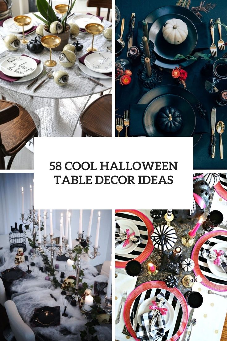cool halloween table decor ideas cover