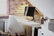 a cozy small home office design