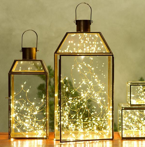 Christmas Lanterns.65 Amazing Christmas Lanterns For Indoors And Outdoors