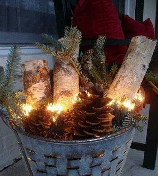 amazing outdoor christmas decorations - Homemade Outdoor Christmas Decorations