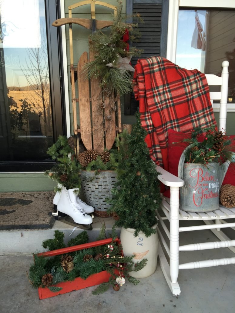 Country Christmas Decor Outside : Amazing outdoor christmas decorations digsdigs