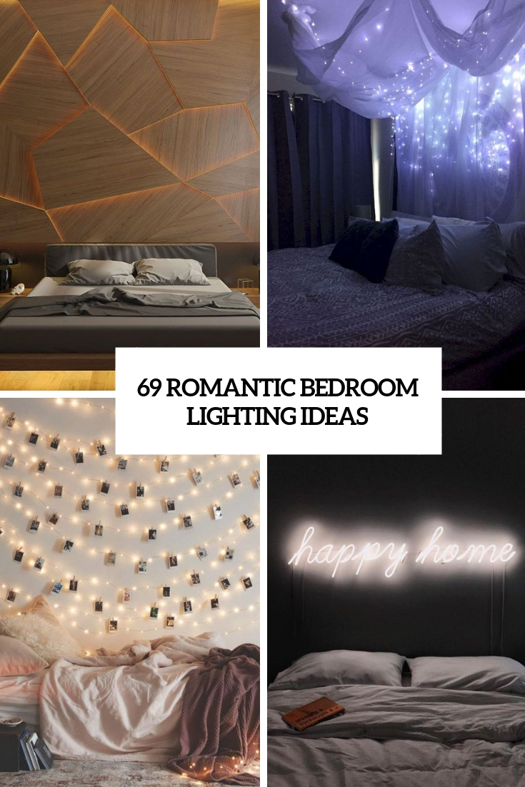 Cool 69 Romantic Bedroom Lighting Ideas Digsdigs Home Interior And Landscaping Eliaenasavecom
