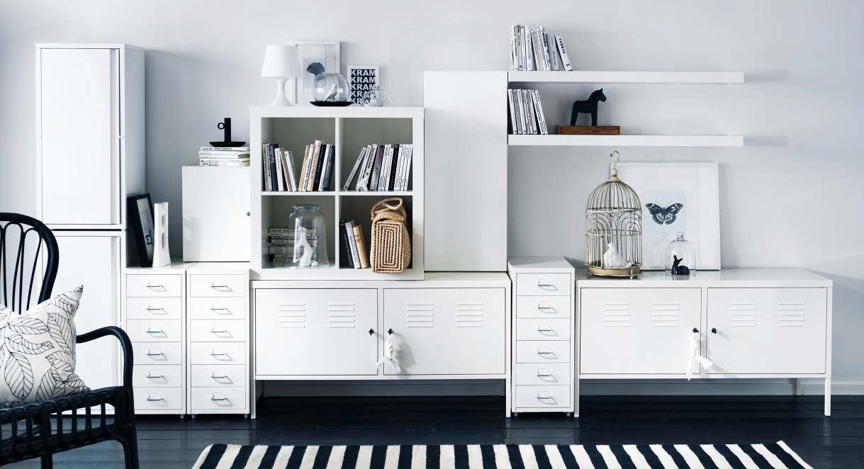 IKEA Storage Organization Ideas 2013 | DigsDigs