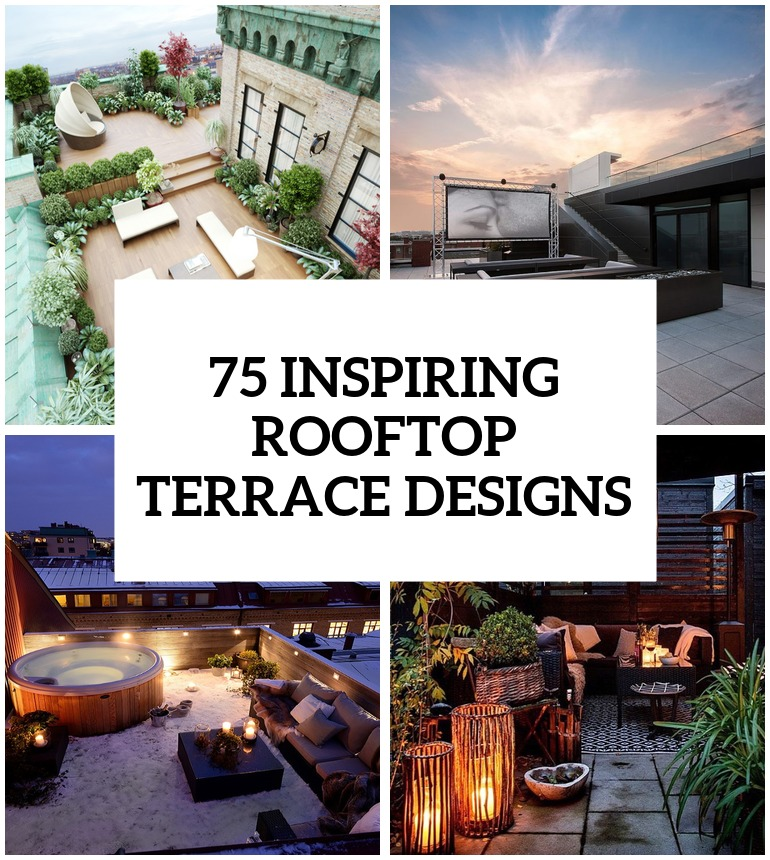 Rooftop designs home design for What does terrace mean